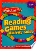 Kids Learn! Reading Games: Grades K-2 Kit