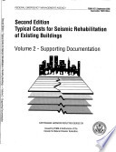 Typical Costs for Seismic Rehabilitation of Existing Buildings