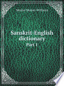 Sanskrit-English dictionary