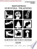 1985 Air Force Search and Rescue Survival Trainging