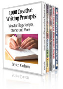 1 000 Creative Writing Prompts Box Set