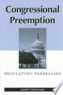 Congressional Preemption