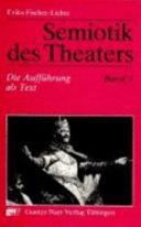 Semiotik des Theaters