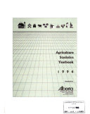 Agriculture Statistics Yearbook Book