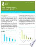 Food safety in Kenya  Focus on fruits and vegetables