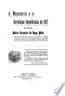 A maçonaria e a revoluçao republicana de 1817