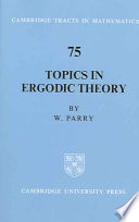 Topics In Ergodic Theory