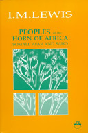 Peoples of the Horn of Africa