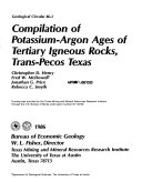 Pdf Compilation of Potassium-argon Ages of Tertiary Igneous Rocks, Trans-Pecos Texas