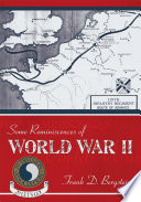 Some Reminiscences of World War II