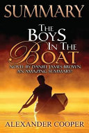 Summary   The Boys in the Boat   Book