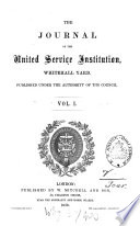 Journal of the Royal United Service Institution Book