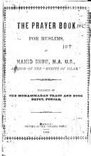 The Prayer Book for Muslims