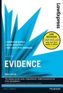 Law Express: Evidence (Revision Guide)