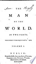 The Man of the World  Etc   By Henry Mackenzie