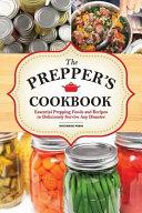 The Preppers Cookbook Book