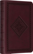 ESV Compact Bible (TruTone, Chestnut, Diamond Design)