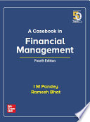 A Casebook In Financial Management   Fourth Edition