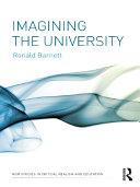 Imagining the University Pdf/ePub eBook