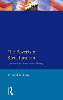 Pdf The Poverty of Structuralism Telecharger