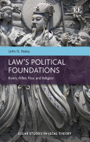 Law's Political Foundations: Rivers, Rifles, Rice, and ReligionLaw's ...