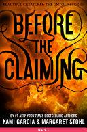 Before the Claiming [Pdf/ePub] eBook