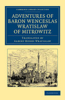 Adventures of Baron Wenceslas Wratislaw of Mitrowitz