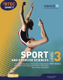 Btec Level 3 National Sport and Exercise Sciences. Student Book