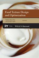 Food Texture Design and Optimization [Pdf/ePub] eBook