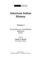 American Indian History ebook