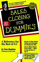 """Sales Closing For Dummies"" by Tom Hopkins"