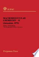 Macromolecular Chemistry-11