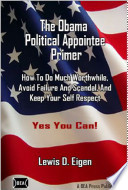 The Obama Political Appointee Primer