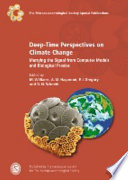 Deep time Perspectives on Climate Change