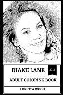 Diane Lane Adult Coloring Book