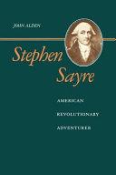 Stephen Sayre