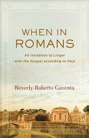When In Romans