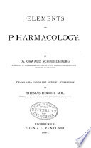 Elements of Pharmacology