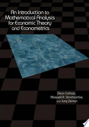An Introduction to Mathematical Analysis for Economic Theory and Econometrics banner backdrop