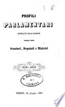 Profili parlamentari estratti dall'Espero numero venti senatori, deputati e ministri