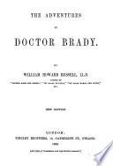 The Adventures of Doctor Brady     Reprinted from Tinsleys  Magazine