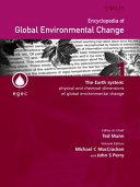 Encyclopedia Of Global Environmental Change Set