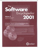 The Software Encyclopedia 2001  System compatibility