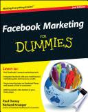 """Facebook Marketing For Dummies®"" by Paul Dunay, Richard Krueger"