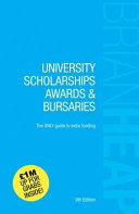 University Scholarships, Awards and Bursaries