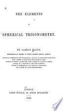 The Elements of Spherical Trigonometry