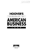 Hoover S Handbook Of American Business 1999 Book PDF