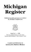 Michigan Register