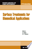 Surface Treatments For Biomedical Applications Book PDF