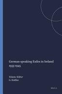 German speaking Exiles in Ireland 1933 1945